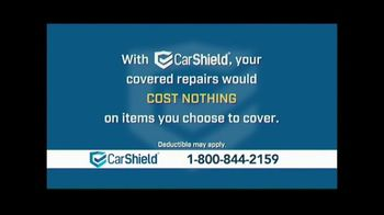 CarShield TV Spot, 'Covered Repairs'