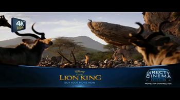 DIRECTV Cinema TV Spot, 'The Lion King' - Thumbnail 1