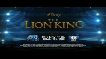 DIRECTV Cinema TV Spot, 'The Lion King' - Thumbnail 10