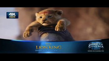 DIRECTV Cinema TV Spot, \'The Lion King\'