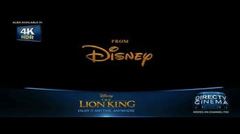 DIRECTV Cinema TV Spot, 'The Lion King' - Thumbnail 3