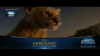 DIRECTV Cinema TV Spot, 'The Lion King' - Thumbnail 4