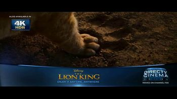 DIRECTV Cinema TV Spot, 'The Lion King' - Thumbnail 5