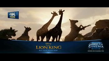 DIRECTV Cinema TV Spot, 'The Lion King' - Thumbnail 6