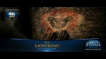DIRECTV Cinema TV Spot, 'The Lion King' - Thumbnail 7