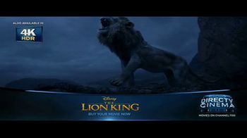 DIRECTV Cinema TV Spot, 'The Lion King' - Thumbnail 8
