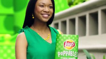 Lay's Poppables TV Spot, 'Crispy and Full of Flavor'
