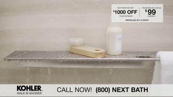 Kohler Walk In Shower TV Spot, 'Luxurious Experience' - Thumbnail 3
