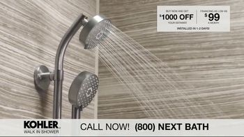 Kohler Walk In Shower TV Spot, 'Luxurious Experience' - Thumbnail 4
