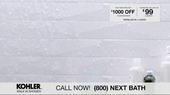 Kohler Walk In Shower TV Spot, 'Luxurious Experience' - Thumbnail 7