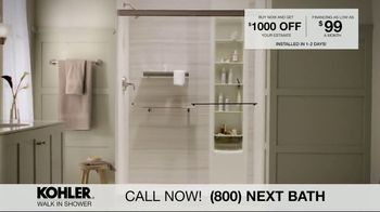 Kohler Walk In Shower TV Spot, 'Luxurious Experience' - Thumbnail 8