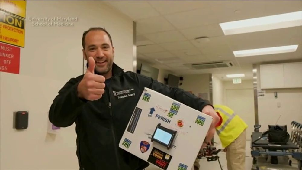 BTN LiveBIG TV Commercial, 'A Maryland Drone Made a Life-Saving Delivery'