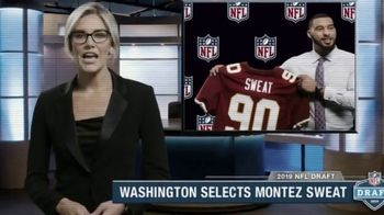 Old Spice Sweat Defense TV Spot, 'Sweat...In the NFL?!' Featuring Montez Sweat - Thumbnail 1