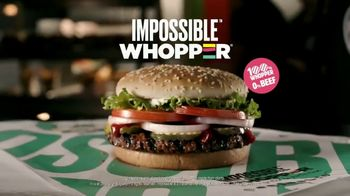 Burger King Impossible Whopper TV Spot, 'Beef Lovers: Uber Eats'