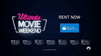 Paramount Pictures Home Entertainment TV Spot, 'Ultimate Movie Weekend' - Thumbnail 9