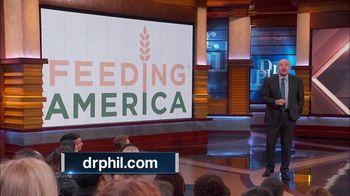 Feeding America TV Spot, 'Dr. Phil: 12 Million Kids' - Thumbnail 2
