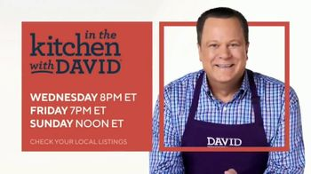QVC TV Spot, 'In the Kitchen With David' - Thumbnail 9