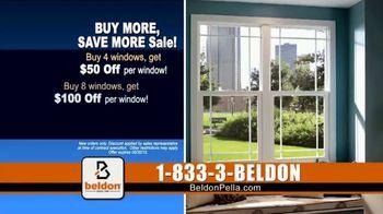 Beldon Windows Buy More, Save More Sale TV Spot, 'Custom Windows' - Thumbnail 7