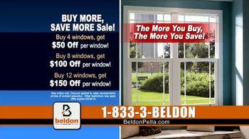 Beldon Windows Buy More, Save More Sale TV Spot, 'Custom Windows' - Thumbnail 8