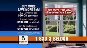 Beldon Windows Buy More, Save More Sale TV Spot, 'Custom Windows' - Thumbnail 9