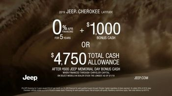 Jeep Memorial Day Sales Event TV Spot, 'Legend of the Cherokee' Song by The Kills [T2] - Thumbnail 9