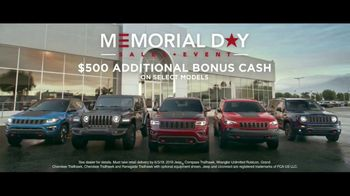 Jeep Memorial Day Sales Event TV Spot, 'Legend of the Cherokee' Song by The Kills [T2] - Thumbnail 8