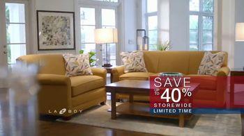 La-Z-Boy Memorial Day Sale TV Spot, 'Held Over: Save 40 Percent' - Thumbnail 6