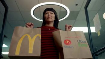 McDonald's McDelivery TV Spot, 'Uber Eats: More Than Food'
