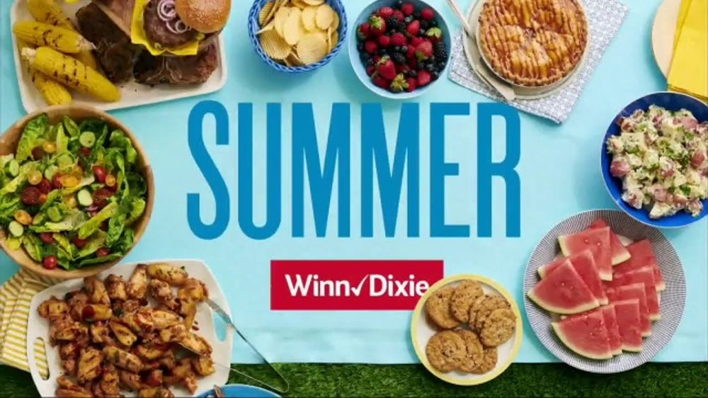Winn-Dixie TV Commercial, 'Summer: Ground Beef, Dole Salads and Natural Light'