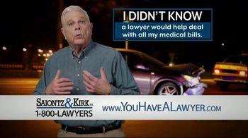 Saiontz & Kirk, P.A. TV Spot, 'Lawyer Assistance for Medical Bills' - Thumbnail 1