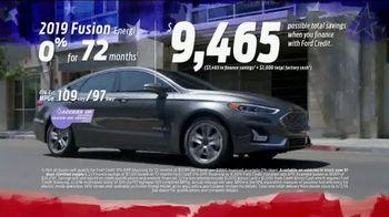 Ford Memorial Day Sellathon TV Spot, 'Fusion' [T2] - Thumbnail 4