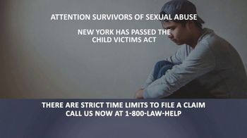 1-800-LAW-HELP TV Spot, 'Survivors of Sexual Abuse' - Thumbnail 2