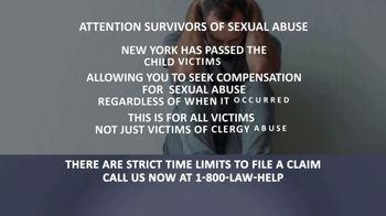 1-800-LAW-HELP TV Spot, 'Survivors of Sexual Abuse' - Thumbnail 4