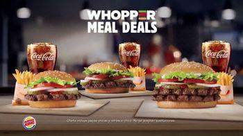 Burger King Whopper Meal Deals TV Spot, 'Alimenta tu apetito' [Spanish] - Thumbnail 3
