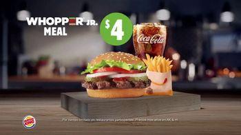 Burger King Whopper Meal Deals TV Spot, 'Alimenta tu apetito' [Spanish] - Thumbnail 5