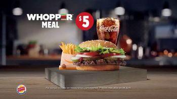 Burger King Whopper Meal Deals TV Spot, 'Alimenta tu apetito' [Spanish] - Thumbnail 6