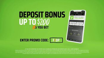 DraftKings Sportsbook TV Spot, 'Finals: Deposit Bonus' - Thumbnail 8