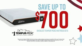 Ashley HomeStore Memorial Day Mattress Sale TV Spot, 'Extended: Select Tempur-Pedic' Song by Midnight Riot - Thumbnail 3