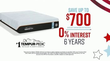 Ashley HomeStore Memorial Day Mattress Sale TV Spot, 'Extended: Select Tempur-Pedic' Song by Midnight Riot - Thumbnail 4