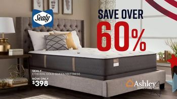 Ashley HomeStore Memorial Day Mattress Sale TV Spot, 'Extended: Select Tempur-Pedic' Song by Midnight Riot - Thumbnail 5