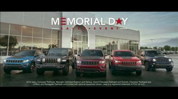 Jeep Memorial Day Sales Event TV Spot, 'Legends' Song by The Kills [T2] - Thumbnail 6