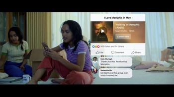 Facebook Groups TV Spot, 'Memphis in May' Song by Marc Cohn