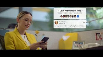 Facebook Groups TV Spot, 'Memphis in May' Song by Marc Cohn - Thumbnail 8