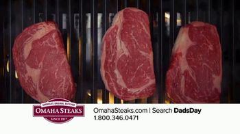Omaha Steaks Father's Day Gift TV Spot, 'I Love You, Dad' - Thumbnail 4