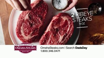 Omaha Steaks Father's Day Gift TV Spot, 'I Love You, Dad' - Thumbnail 5