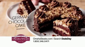 Omaha Steaks Father's Day Gift TV Spot, 'I Love You, Dad' - Thumbnail 6