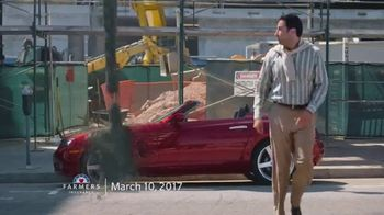 Farmers Insurance TV Spot, 'Parking Splat, Fly-By Ballooning, Rooftop Parking and Hit & Drone' - Thumbnail 3