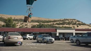 Farmers Insurance TV Spot, 'Parking Splat, Fly-By Ballooning, Rooftop Parking and Hit & Drone' - Thumbnail 4