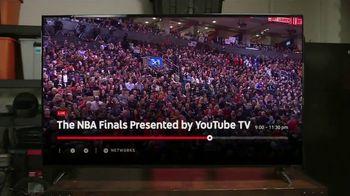 YouTube TV TV Spot, '2019 NBA Finals: Toronto' - Thumbnail 4