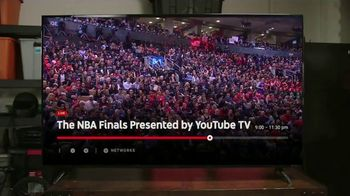 YouTube TV TV Spot, '2019 NBA Finals: Toronto' - Thumbnail 5